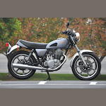1981 Yamaha SR500  Frame no. JYA4R800XBA001252 Engine no. 4R8001252