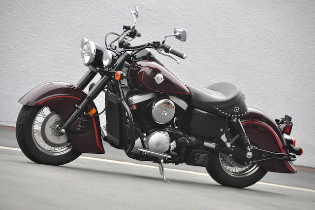1999 Kawasaki Drifter 1500cc Frame no. JKBVNAJ14XA000050 Engine no. VNT50AE073135