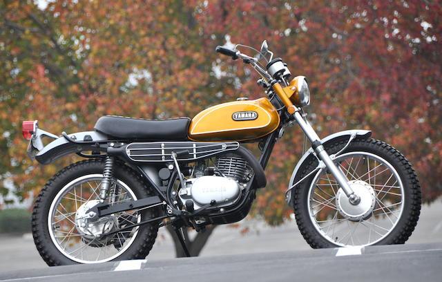 1969 Yamaha DT-1 Enduro Frame no. DT120188 Engine no. DT120188