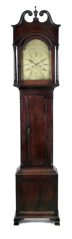 Thos. Harland long case clock
