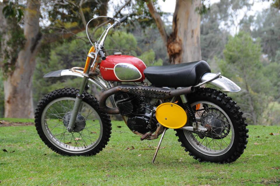 The ex-Steve McQueen,1970 Husqvarna 400 Cross Frame no. MH-1341 Engine no. 401124