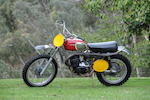 1970 Husqvarna 400 Cross Frame no. MH1341 Engine no. 401124