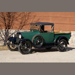 1928 Ford Model A 'AR'  Chassis no. A80155