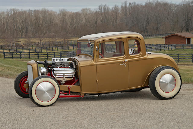 "1932 Ford Model 18 Five-Window ""Golden Deuce"" Coupe  Chassis no. 15038670 Engine no. S26AI909"
