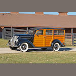 1937 Ford Model 79B Deluxe Station Wagon  Chassis no. 183519459