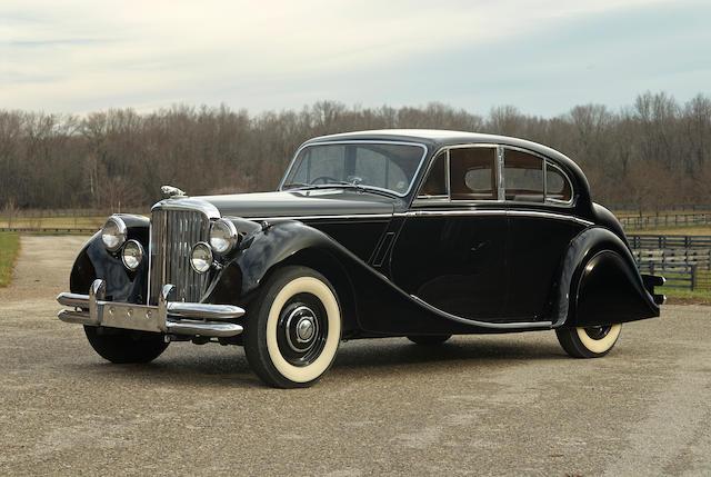 1949 Jaguar Mk V 3½-Liter Saloon  Chassis no. 620082 Engine no. Z3761