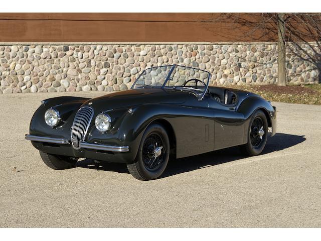 1953 Jaguar XK120M Roadster  Chassis no. S674089 Engine no. KE 4996-8 (see text)