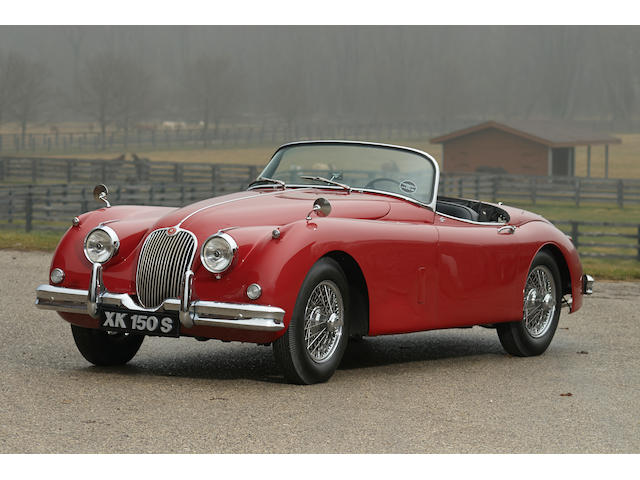 1959 Jaguar  XK 150S Roadster  Engine no. VS17159