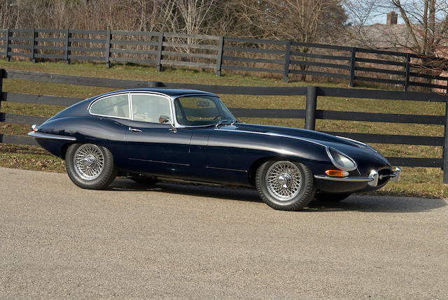 1965 Jaguar XKE Series 4.2-liter 1 Fixed Head Coupe  Chassis no. 30157 Engine no. 7E1413-9