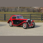 1936 MG NB Magnette Airline Coupe  Chassis no. NA0848