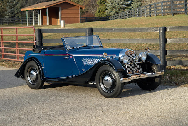 1952 Morgan Plus Four Drophead Coupe  Chassis no. P-2281