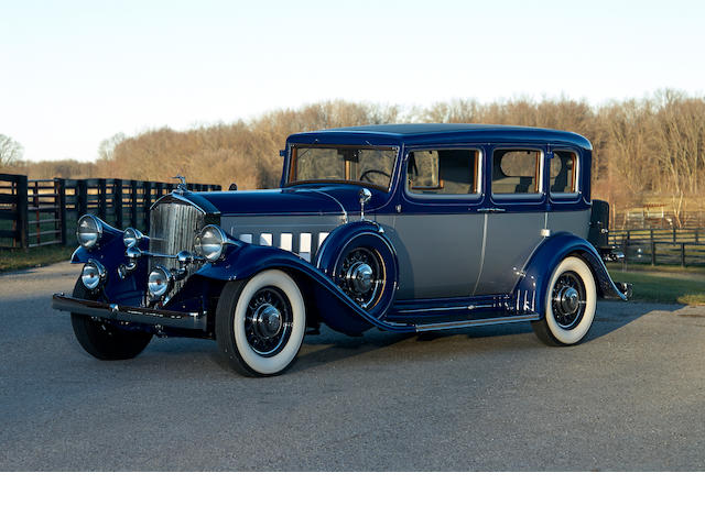 1932 Pierce-Arrow Twelve Touring Sedan  Chassis no. 2050009