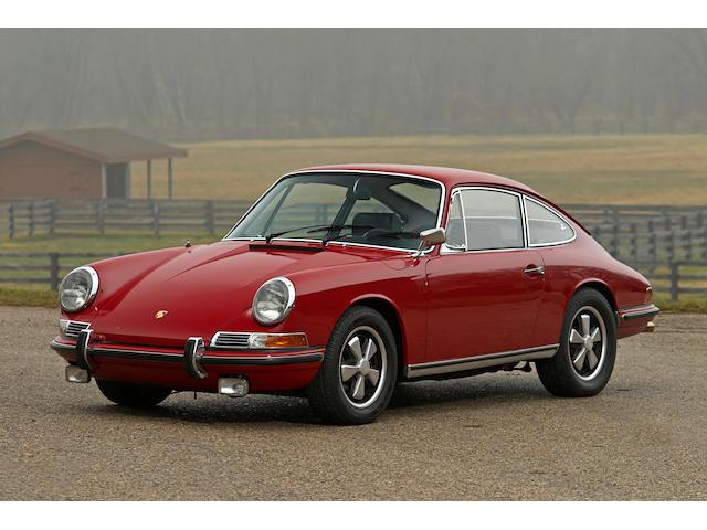 1968 Porsche 911S  Chassis no. 11800561