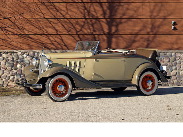 1933 Chevrolet Eagle  Chassis no. 3545272