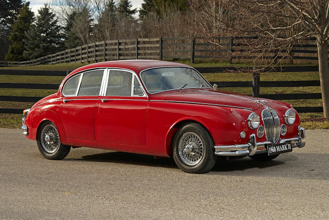 1960 Jaguar  Mk II 3.8-liter Saloon  Chassis no. A213516 Engine no. LA6045-8