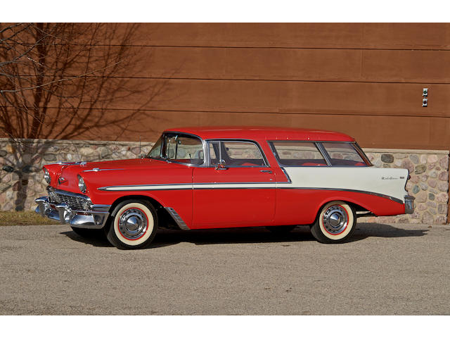 1956 Chevrolet Nomad Bel Air 2D Wagon  Chassis no. VC56O006486