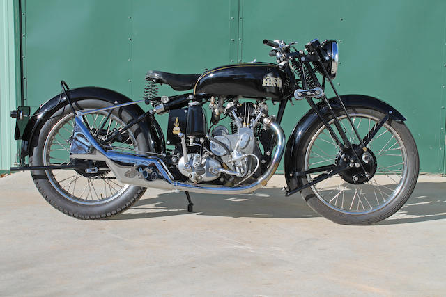 1936 Vincent H.R.D. Series A 'Comet TTC' Special Frame no. D1601 Engine no. TTC 101