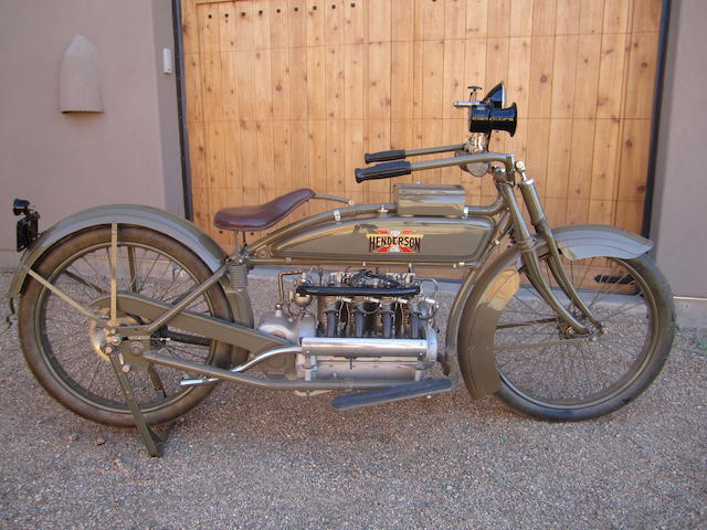 1918 Henderson Model H 67ci Four  Engine no. 7782