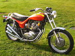 1973 Triumph X75 Hurricane Frame no. TRX75XH00990 Engine no. TRX75XH00990