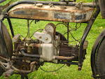 c.1923 Douglas S2 6hp 750cc Twin Engine no. CE249