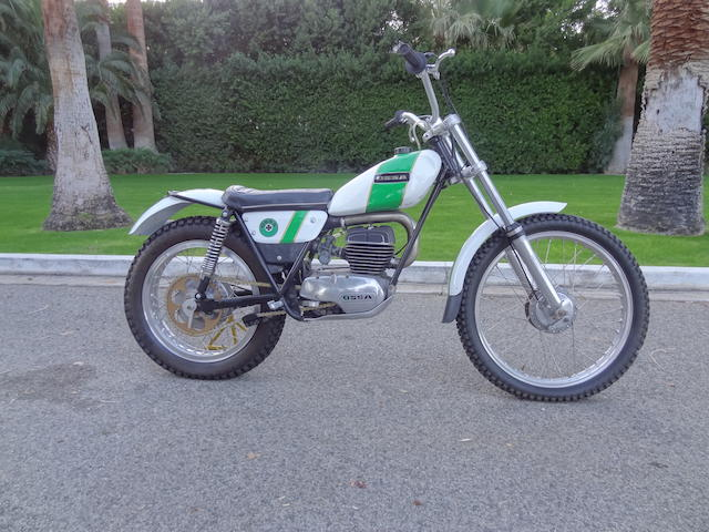 1972 Ossa Mick Andrews replica