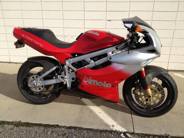 c.1996 Bimota DB1 Supermono Frame no. 00280 Engine no. 00280