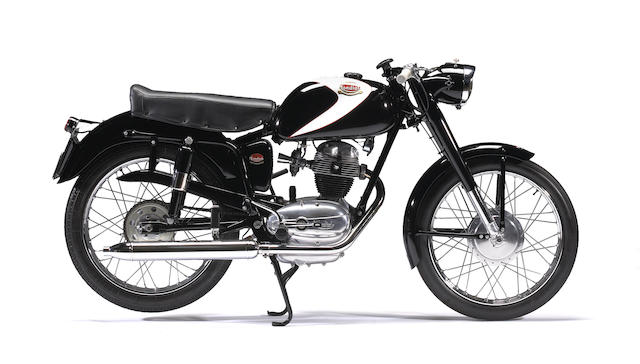 1956 Mondial 125cc Champion Lusso Frame no. 10258 Engine no. L12855
