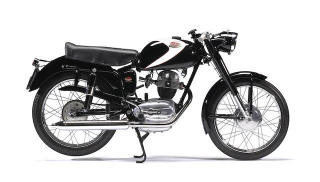 1956 Mondial 125cc Champion Lusso Frame no. 10258 Engine no. L12855