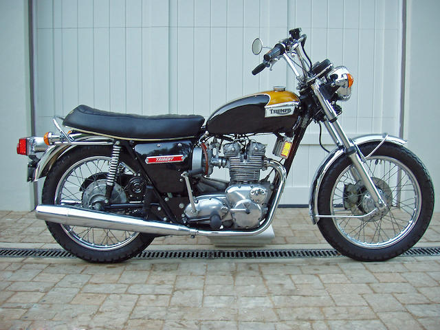 1974 Triumph 750cc T150V Trident Frame no. T150VHJ40311 Engine no. T150VHJ40311