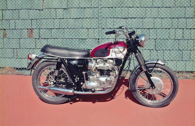 1967 Triumph 649cc T120R Bonneville Frame no. T120RDU49795 Engine no. T120RDU49795