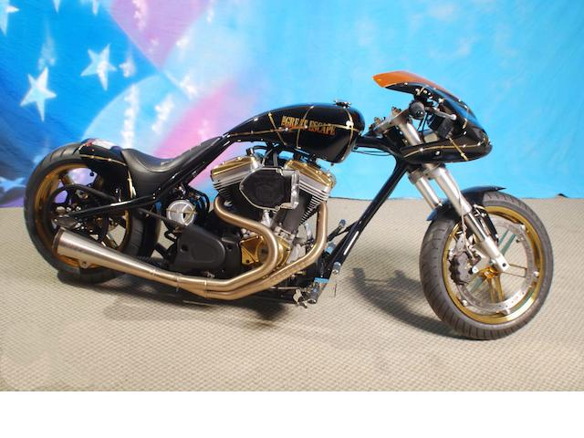 2012 Steve McQueen Tribute Chopper ESCC Custom Bike Frame no. FLA67279
