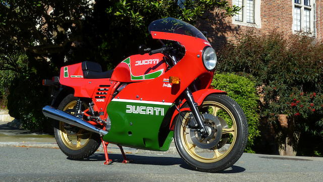 1985 Ducati Mike Hailwood Replica Frame no. ZDM 1000R 100361 Engine no. 100324 ZDM 1000