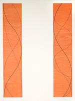 Robert Mangold (born 1937); Curved Plane; One Column; Two Columns; (3)