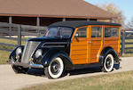 1937 Ford Model 78B Deluxe Station Wagon  Chassis no. 183519459