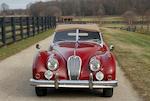 1955 Jaguar XK140 3.4-liter MC Roadster  Chassis no. S811687 Engine no. G5224-8S