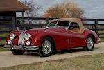 1957 Jaguar XK 140 OTS  Chassis no. S811687