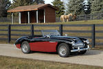 1962 Austin-Healey 3000 Mk II BN7 Roadster	   Chassis no. HBN7L/16953 Engine no. 29E/RU/H3309