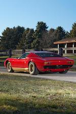 1972 Lamborghini Miura SV  Chassis no. 5012 Engine no. 30708