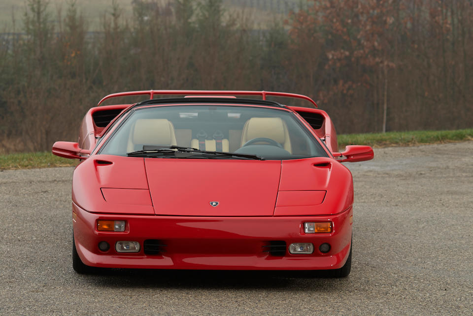Bonhams 1996 Lamborghini Diablo Vt Roadster Chassis No