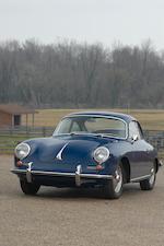 1963 Porsche 356B Coupe  Chassis no. 124041