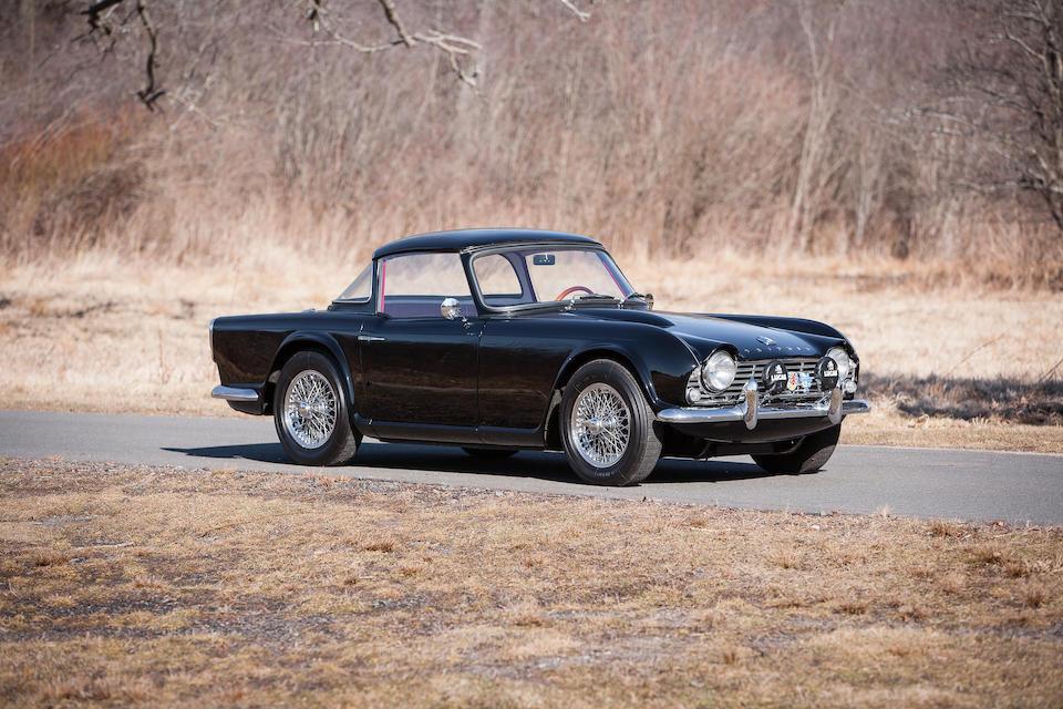 Bonhams : 1962 Triumph TR4