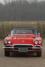1962 Chevrolet Corvette Fuel-Injected Convertible  Chassis no. 20867S106224