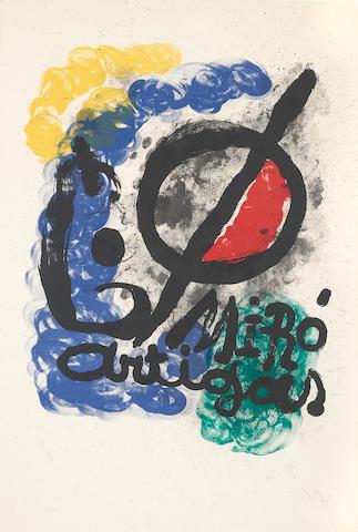 Joan Miro, Miro Artigas (M.338), 1963;