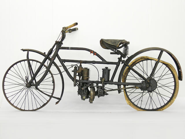 From a Prominent European Collection,,c.1920 FN 285T Shaft Drive Single