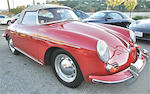 One of 473 D'Ieteren-built T5 Roadsters,1961 Porsche 356B Roadster  Chassis no. 89155 Engine no. 604819