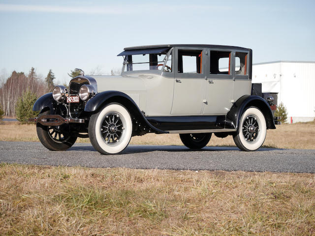 From the Estate of Eugene Beardslee, formerly in the Harrah Collection  ,1925 Lincoln Model L Three Window Four Passenger Sedan  Chassis no. 26405