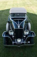 1931 Auburn 8-98A Convertible  Chassis no. 10761H Engine no. GU46684