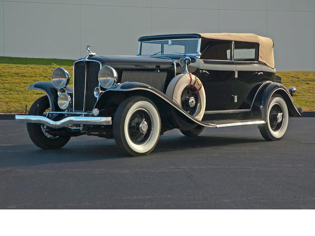 1931 Auburn 8-98A Convertible  Chassis no. 10761H Engine no. GU46684