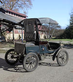 From the Pierce A. Miller Carriage Collection,1903 Oldsmobile Model R Curved Dash Runabout  Engine no. 18003
