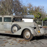 From the Pierce A. Miller Carriage Collection,1930 Cadillac 452 V16 Ambulance  Engine no. 700731